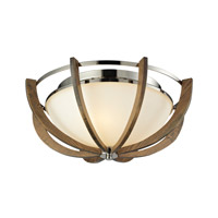 Janette 3 Light 19 inch Polished Nickel Sconce Wall Light