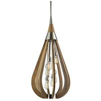 Janette 6 Light 19 inch Polished Nickel Pendant Ceiling Light
