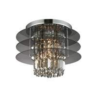 ELK 31590/3 Zoey 3 Light 16 inch Polished Chrome Semi Flush Ceiling Light