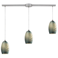 Tidewaters 3 Light 36 inch Satin Nickel Pendant Ceiling Light