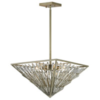 ELK Lighting Viva Natura 6 Light Pendant in Aged Silver 31771/6