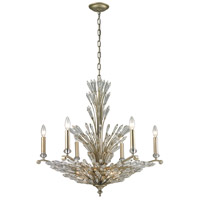 ELK Lighting Viva Natura 9 Light Chandelier in Aged Silver 31779/6+3