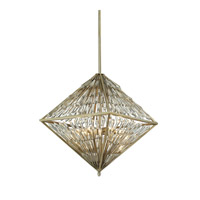 ELK Lighting Viva Natura 6 Light Chandelier in Aged Silver 31780/6