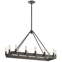 Elk Lighting Lewisburg 14 Light Chandelier in Malted Rust 31822/14