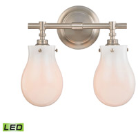 Jaelyn LED 13 inch Brushed Nickel Vanity Wall Light