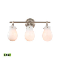 Jaelyn LED 21 inch Brushed Nickel Vanity Wall Light