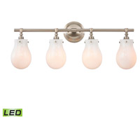 Jaelyn LED 29 inch Brushed Nickel Vanity Wall Light