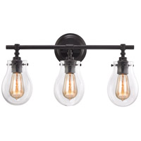 Jaelyn 3 Light 21 inch Oil Rubbed Bronze Vanity Wall Light