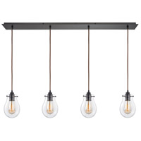 ELK 31934/4LP Jaelyn 4 Light 46 inch Oil Rubbed Bronze Linear Pendant Ceiling Light