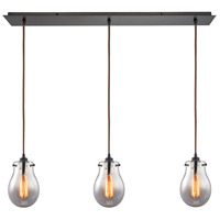 Jaelyn 3 Light 36 inch Oil Rubbed Bronze Pendant Ceiling Light
