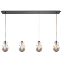 ELK 31935/4LP Jaelyn 4 Light 46 inch Oil Rubbed Bronze Linear Pendant Ceiling Light