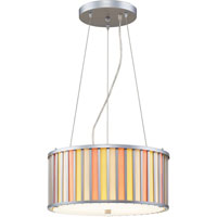 ELK 3194/3 Mary-kate And Ashley Mary-kateandashley Create-a-shade 3 Light 16 inch Silver Pendant Ceiling Light