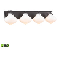 ELK 31953/4-LED Kelsey LED 37 inch Oil Rubbed Bronze Vanity Wall Light