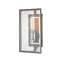 Ridgeview 1 Light 8 inch Weathered Zinc,Polished Nickel Wall Sconce Wall Light