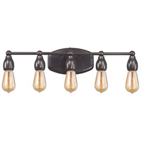 Elk Lighting Vernon 5 Light Vanity in Oil Rubbed Bronze 31982/5
