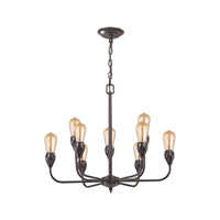 Vernon 9 Light 24 inch Oil Rubbed Bronze Chandelier Ceiling Light