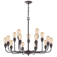 Elk Lighting Vernon 15 Light Chandelier in Oil Rubbed Bronze 31984/10+5