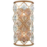 Armand 2 Light 8 inch Matte Gold Wall Sconce Wall Light