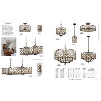 ELK 32092/4 Armand 4 Light 17 inch Matte Gold Semi Flush Mount Ceiling Light alternative photo thumbnail