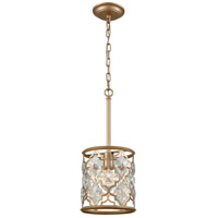 ELK 32094/1 Armand 1 Light 8 inch Matte Gold Pendant Ceiling Light