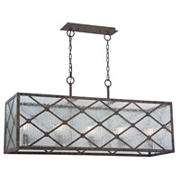 Radley 5 Light 14 inch Malted Rust Chandelier Ceiling Light