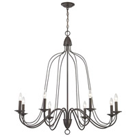Elk Lighting Monroe 8 Light Chandelier in Oil Rubbed Bronze 32163/8