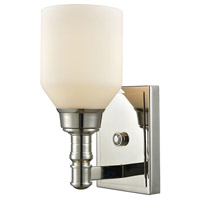 Baxter 1 Light 4 inch Polished Nickel Vanity Wall Light