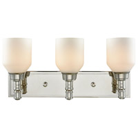 Baxter 3 Light 20 inch Polished Nickel Vanity Wall Light