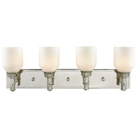 ELK 32273/4 Baxter 4 Light 28 inch Polished Nickel Vanity Light Wall Light