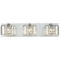 Springvale 3 Light 22 inch Polished Chrome Vanity Wall Light