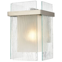 Vellis 1 Light Satin Nickel Sconce Wall Light