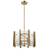 ELK 32333/4 Vindalia 4 Light 18 inch Satin Black Chandelier Ceiling Light