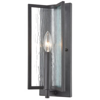 Inversion 1 Light 6 inch Charcoal Wall Sconce Wall Light