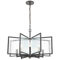 Inversion 8 Light 30 inch Charcoal Pendant Ceiling Light