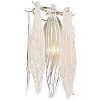 ELK 32430/1 Winterlude 1 Light 9 inch Silver Leaf Sconce Wall Light