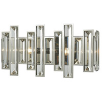 ELK 33010/2 Crystal Heights 2 Light 16 inch Polished Chrome Vanity Light Wall Light
