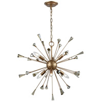 ELK 33020/6 Sprigny 6 Light 25 inch Matte Gold Chandelier Ceiling Light