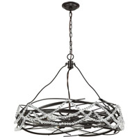ELK 33056/8 Nestled 8 Light 30 inch Oil Rubbed Bronze Pendant Ceiling Light alternative photo thumbnail