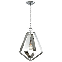 ELK 33170/1 Anguluxe 1 Light 14 inch Polished Chrome Pendant Ceiling Light