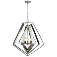 ELK 33172/5 Anguluxe 5 Light 26 inch Polished Chrome Pendant Ceiling Light
