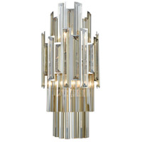 Rivona 2 Light 8 inch Polished Chrome Wall Sconce Wall Light