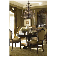 ELK 3344/6 Rochelle 6 Light 28 inch Weathered Mahogany Ironwork Chandelier Ceiling Light alternative photo thumbnail
