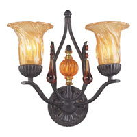 ELK Lighting Provenzia 2 Light Sconce in Dark Rust 3592/2 photo thumbnail