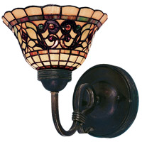 ELK 361-VA Tiffany Buckingham 1 Light 8 inch Vintage Antique Wall Sconce Wall Light