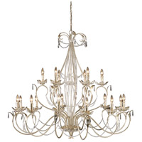 ELK Lighting Madison 18 Light Chandelier in Silver Leaf 3736/12+6 photo thumbnail