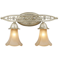 ELK Lighting Trump Home Central Park Chelsea 2 Light Vanity in Aged Silver 3820/2