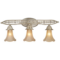 ELK Lighting Chelsea 3 Light Vanity in Aged Silver 3821/3