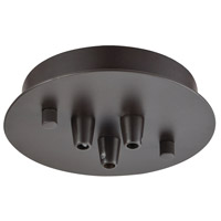 ELK 3SR-OB Pendant Options Oil Rubbed Bronze Canopy, Small Round