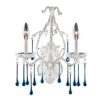 ELK Lighting Opulence 2 Light Sconce in Antique White 4000/2AQ
