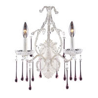 ELK Lighting Opulence 2 Light Sconce in Antique White 4000/2RS